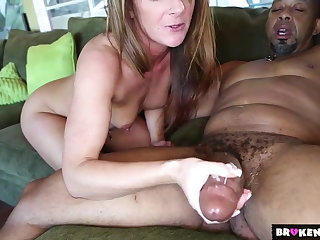 BrokenTeens - Tiny Asshole Vs Huge Black Cock
