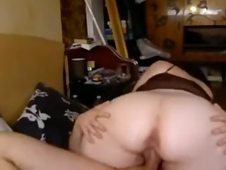 Real mother I´d like to fuck is copulated by his son homemade sex