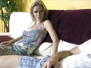 Horny Tatted Blonde Wants Boyfriend's Hard Cock Deep In Her Pussy