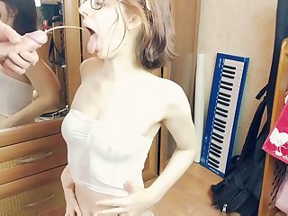 Anal and piss princess: kinky girl next door gets pissing in mouth and POV ass fuck