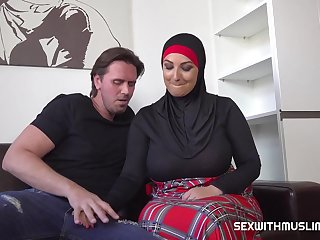 Muslim BBW Hardcore Sex Scene With Cocky Lad