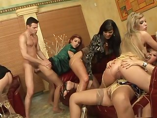 Holynight Wives Group Fucking - Crazy Sluts Orgy