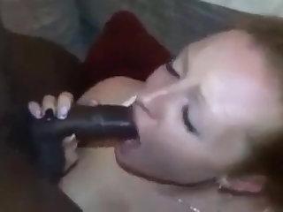 Redhead Deutsche Frau bekommt Gesicht von BBC
