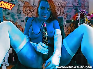 Dirty Girl From Avatar Webcam Session