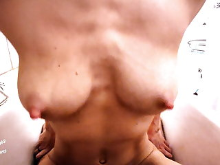 StepSister Blowjob and Passionate Fucking during Shower