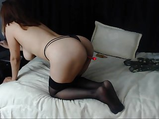 Hot amateur webcam solo masturbation