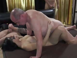 Busty Tits Hottie Amateurs Babe Creampied by Old German Men