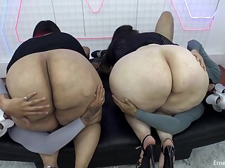 homemade foursome with busty fat ass BBW ghetto sluts