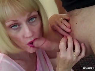 Lonely old man gets off watching his wife fuck other guys - Melanie skyy