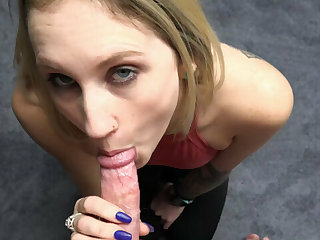 ChickPass - Josie Jewells is giving a point of view blowjob
