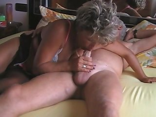 Full-Breasted  Granny Amateur Porn Video