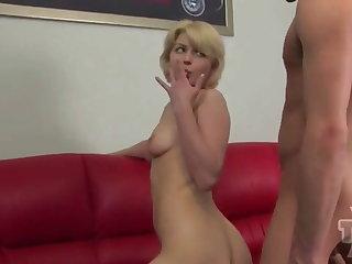 Teen Blonde Fucked hard by her boyfriend
