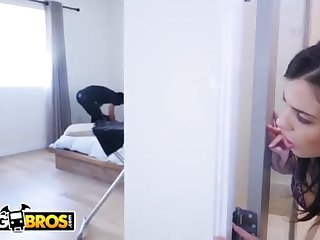 BANGBROS - Thief Breaks In Keisha Grey's Home and Gets Put To Work